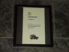Tom Petty-Playback-Original advert framed