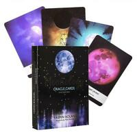 44 Cards Set for Moonology Oracle Cards Gift Toy Deck Vintage Game Holiday Gifts