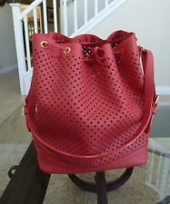 LOUIS VUITTON Noe Flore Corail Perforated Coral