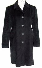 Vtg Calvin Klein Wool/Angora black coat sz. 6 Euc light weight