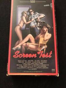Screen Test VHS tape Rare!
