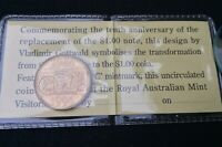 """1994 """"COMMEMORATIVE ONE DOLLAR COIN"""" ~ SPECIAL RAM VISITORS GALLERY ISSUE ~ UNC!"""