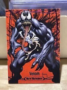 2016 Upper Deck Marvel Masterpieces Tier 4 Purple  #86 Venom T4