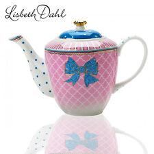 Lisbeth Dahl Bowie Teekanne/ Kaffeekanne,Porzellan,Shabby-Granny-Stil Kanne,NEU
