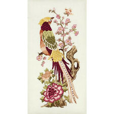 Anchor - Embroidery Kit - Vintage Peony - Bird - 27 x 13 cm - PE643