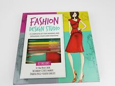 Walter Foster Fashion Design Studio Kit,  NEW design  and draw your own fashions