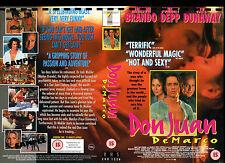 Don Juan DeMarco - Jonny Depp - Video Promo Sample Sleeve/Cover #14370