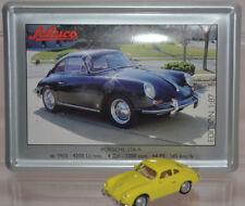 Schuco Modell 1:87 Porsche 356 A gelb Schild Emaille