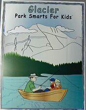Glacier National Park Smarts for Kids Activity Book Puzzles Games Coloring