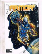 Lot of 2 Armor X Image Comic Books #1 2 KS4