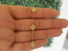 .30 CTW Diamond Bracelet 18k Yellow Gold B49 sep