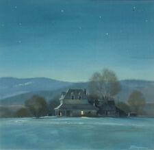 "Rick Brogan ""Farm Near Brush"" Original Watercolor Painting, realism, OBO"