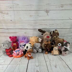 15 X JOB LOT BUNDLE OF MIXED KIDS SOFT PLUSH TOYS TEDDY BEAR animals mixed (L2)