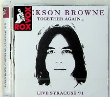 Jackson Browne -Together Again, Live Syracuse 71 2-CD-NEW-Nitty Gritty Dirt Band