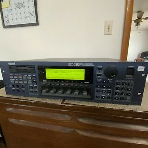 Nice Yamaha EX5R 128-Voice Extended Synthesis Sound Module Synthesizer - Good!