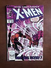 Uncanny X-Men #247 (1989) 8.5 VF Marvel Key Issue Copper Age Comic Book