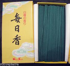 300 bastoncini sticks incenso giapponese Nippon Kodo SANDALO e PINO Mainichiko
