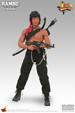HOT TOYS HOTTOYS 1/6 MMS 06 THE FIRST BLOOD II JOHN J RAMBO EXTREMELY RARE NEW