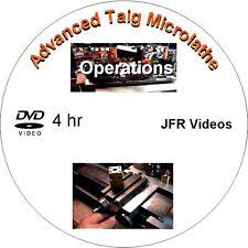 Advanced Taig Micro Lathe Operations (DVD, 4 Hours) / Jose Rodriguez