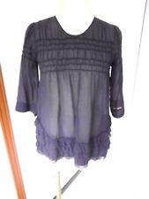 Haut Comptoir des Cotonniers soie coton taille XS S 34 36 blouse chemise top