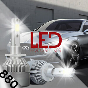 XENTEC LED HID Foglight Conversion kit 899 6000K for Nissan Frontier 2003-2004