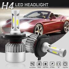 H4 9003 HB2 LED Headlight Kit 200W 20000LM 6500K High/Low Beam Head Fog Bulbs