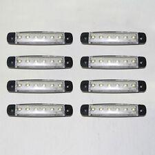 8x24v Weiß Seitenmarkierungsleuchten Für DAF JMC MAN MAXIMALE Tatra UD VW Smith