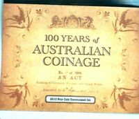 2010 100 Years of Coinage - 4 coin Mint / Privy Mark Set CBMS