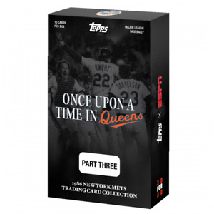 """2021 Topps x ESPN 30for30 - """"Once Upon a Time in Queens"""" - Part 3 New York Mets"""