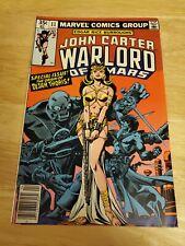 John Carter Warlord Of Mars 11 origin Dejah Thoris VF light foxing
