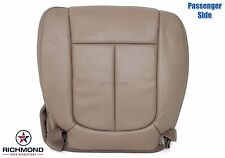 2010 Ford F150 Lariat -Passenger Side Bottom PERFORATED Leather Seat Cover Tan