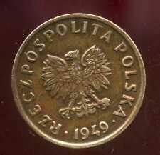 POLOGNE  5  groszy 1949  bronze