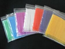 700pcs MicroBrush Supply Eyelash Extension Applicator Mixed Size packing 7 color