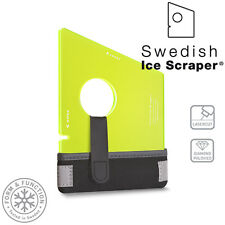 Swedish Ice Scraper Windscreen Frost Window Snow De Icer Delux Car Van