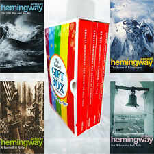 Ernest Hemingway Collection 4 Books Set Gift Wrapped Slipcase(A Farewell To Arm)