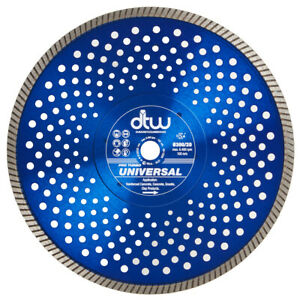 "DTW 300mm 12"" Professional Turbo Diamond Cutting Disc Blade Universal"