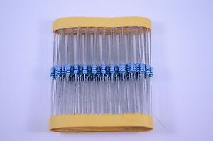100pk - 5.6 Ohm(Green-Blue)-1/4W-5% Carbon Film Resistors