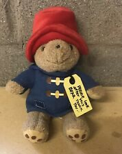 "PADDINGTON BEAR 7"" PLUSH TOY RAINBOW DESIGNS 2008"