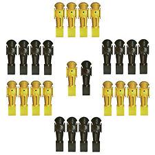 26 Tornado Set Foosball Men 13 Black + 13 Yellow Genuine OEM Player Parts.