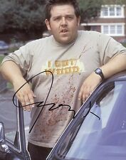 """~ Nick Frost Authentic Hand-Signed """"Shaun of the Dead"""" 8x10 Photo ~"""