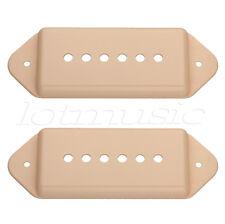 2pcs Yellow P 90 Dogear Guitar Pickup Covers Polepiece Spacing 52mm