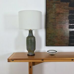 Vintage Design Technics, Lee Rosen Lamp With Walnut Base, Unsigned, VGC