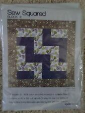 #12 Jo Ann Fabric & Craft Sew Squared Quilt  Nice Blues