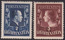 1951 Liechtenstein, n° 266/267 serie di 2 valori MNH/**