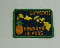 50th State Hawaiian Islands Vintage Patch Free Shipping