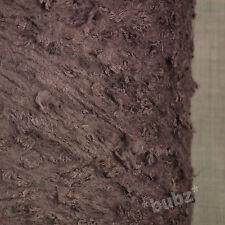 SUPER SOFT ARAN WEIGHT BOUCLE YARN MAUVE 750g CONE 15 BALLS POODLE KNIT PURPLE