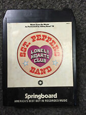 Sgt. Pepper's Lonley Hearts Club Band Music From The Movie 8 Track Cassette Tape