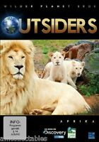DVD - Wilder Planet Terra - Outsiders - Africa - Nuovo/Originale