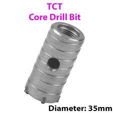 35mm (W) TCT Nucleo Drill Bit-FORO Circolare cutter-Per Muratura Cemento
