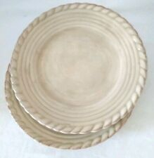 "Artimino Tuscan Countryside Cream 9 1/4"" Salad Plates Set of 2 Earthenware"